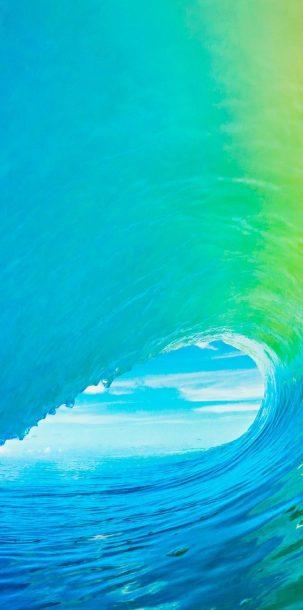 1080x2400 HD Wallpaper 068 303x610 - Blue Wallpapers