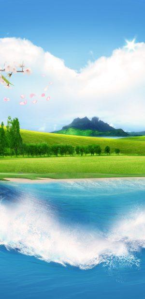 1440x2960 Background HD Wallpaper 338 300x617 - Samsung Galaxy S9+ Wallpapers