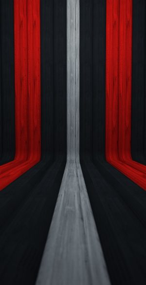 3D Red Black White Lines Phone Wallpaper 300x585 - iPhone Black Wallpapers