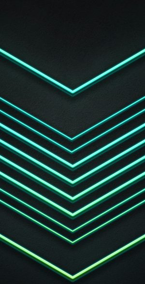 Abstract Glow Lines Phone Wallpaper 300x585 - iPhone Black Wallpapers