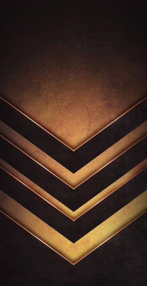 Abstract Golden Black Phone Wallpaper 300x585 - iPhone Black Wallpapers