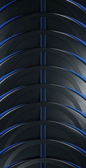 Abstrat Lines 3D Phone Wallpaper 300x585 - Blue Wallpapers