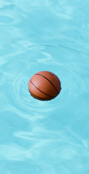 Basketball in Water Wallpaper 300x585 - Realme 7 Pro Wallpapers