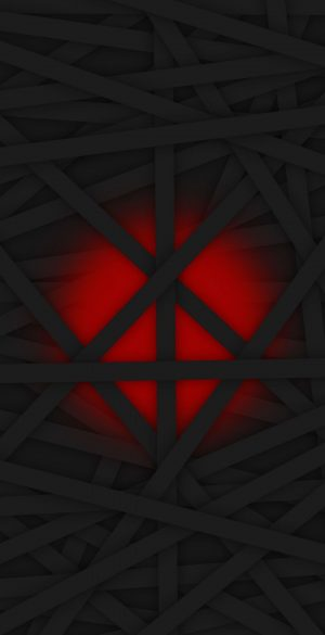 Black Red Strips Phone Wallpaper 300x585 - iPhone Black Wallpapers