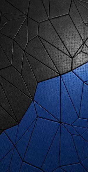 Black and Blue Abstract Phone Wallpaper 300x585 - iPhone Black Wallpapers