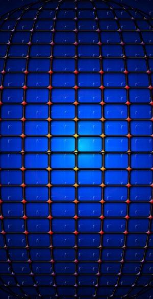 Blue Abstract 3D Phone Wallpaper 300x585 - Blue Wallpapers