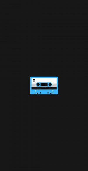 Cassette Amoled Black Wallpaper 300x585 - OnePlus 9R Wallpapers