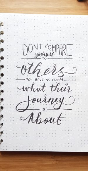 Dont Compare others Wallpaper 300x585 - Xiaomi Poco F3 Wallpapers