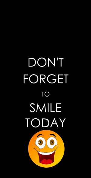 Dont forget to smile Wallpaper 300x585 - Xiaomi Poco F3 Wallpapers