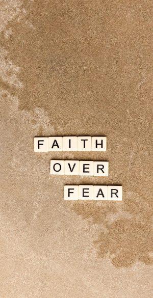 Faith over Fear Wallpaper 300x585 - Xiaomi Poco F3 Wallpapers