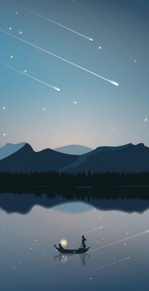 Fantasy Stars Night Wallpaper 300x585 - Xiaomi Poco F3 Wallpapers