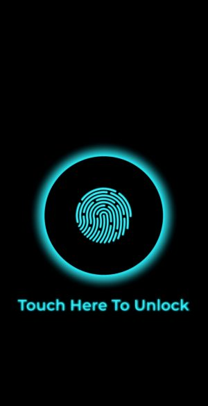 Fingerprint Lock screen Wallpaper 300x585 - Oppo Reno 4 Wallpapers