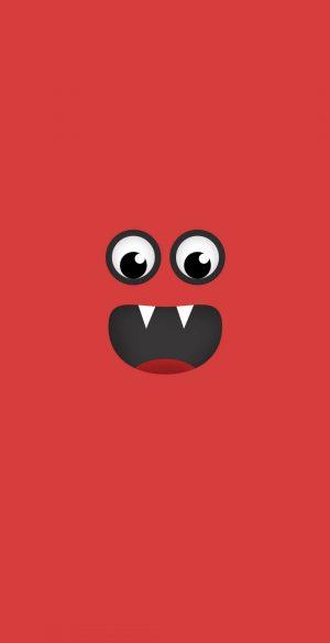 Funny Red Cartoon Wallpaper 300x585 - Xiaomi Poco F3 Wallpapers