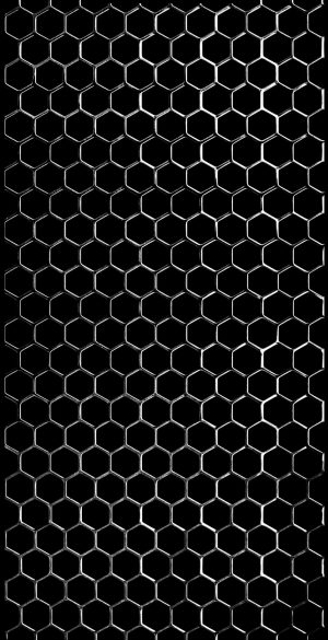 Hexa Grill Black Phone Wallpaper 300x585 - 1080x2400 Wallpapers