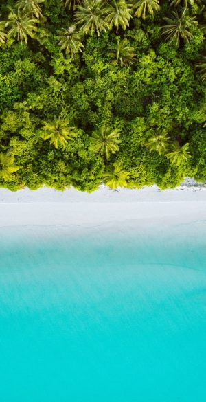 Island Aerial View Wallpaper 300x585 - Oppo Reno 4 Wallpapers