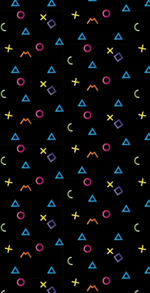 Math colors Amoled Wallpaper 300x585 - Abstract Wallpapers