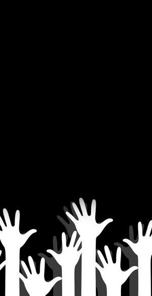 Minimal Amoled Black Wallpaper 39 300x585 - iPhone Minimalist Wallpapers