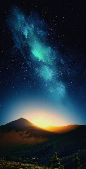 Nature Sky Night View Phone Wallpaper 300x585 - 1080x2400 Wallpapers