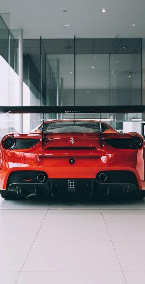 Red Ferrari Wallpaper 300x585 - Realme 7 Pro Wallpapers
