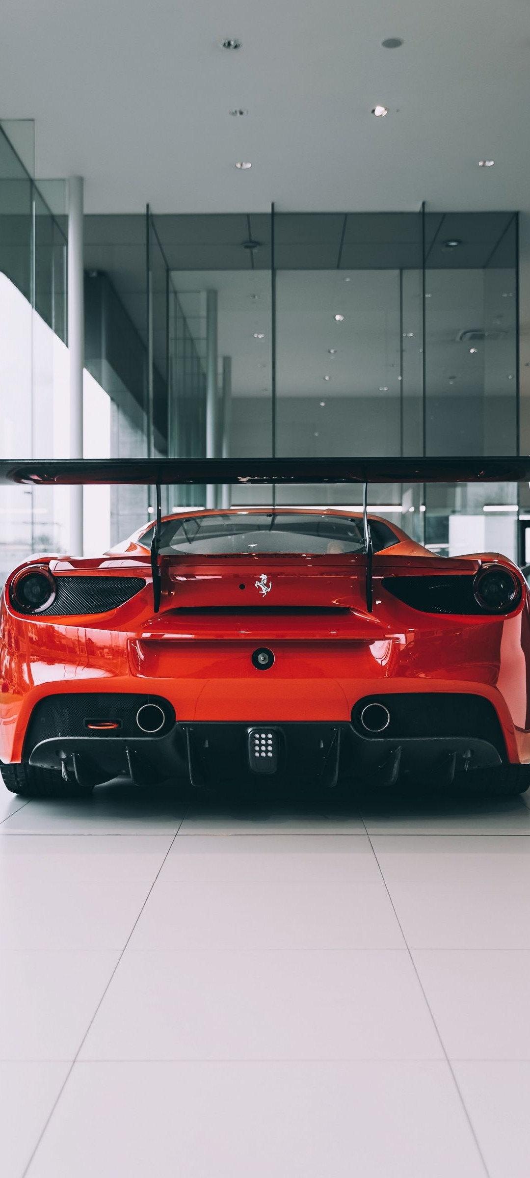 Red Ferrari Wallpaper