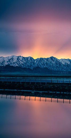 Sky Mountain View Wallpaper 300x585 - Realme 7 Pro Wallpapers