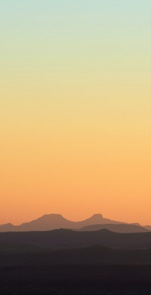 Sky with Mountains Wallpaper 300x585 - Realme 7 Pro Wallpapers