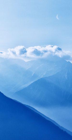 Snow Mountain Phone Wallpaper 300x585 - Blue Wallpapers