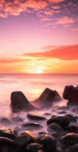 Sunrise Sea Wallpaper 300x585 - Realme 7 Pro Wallpapers