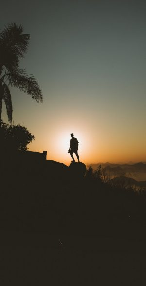 Sunset Alone Wallpaper 300x585 - Realme 7 Pro Wallpapers