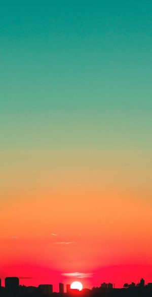Sunset Sky Wallpaper 300x585 - Realme 7 Pro Wallpapers