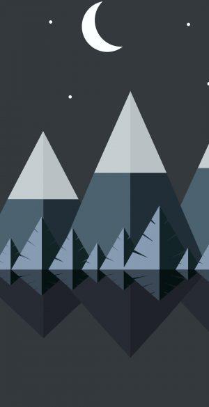 Vector Mountain Wallpaper 300x585 - Realme 7 Pro Wallpapers