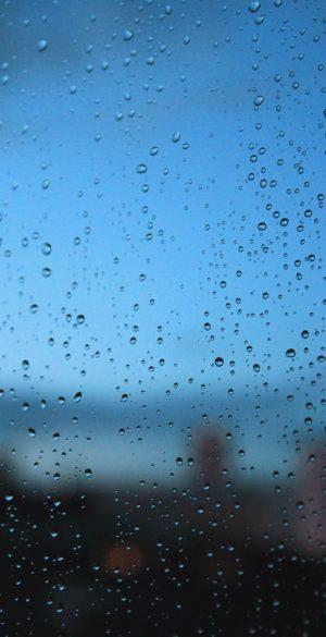 Wet Screen Phone Wallpaper 300x585 - Blue Wallpapers