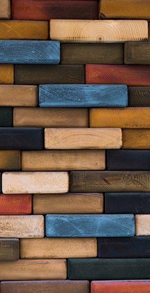 Wood Bricks Wallpaper 300x585 - Realme 7 Pro Wallpapers