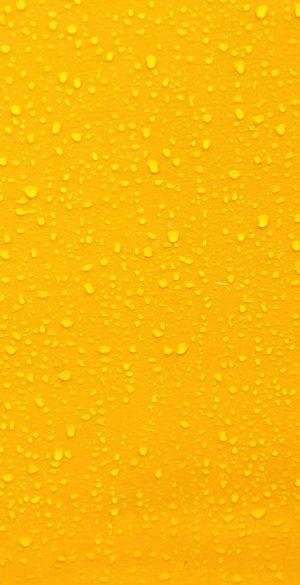 Yellow Water Drops Wallpaper 300x585 - Realme 7 Pro Wallpapers