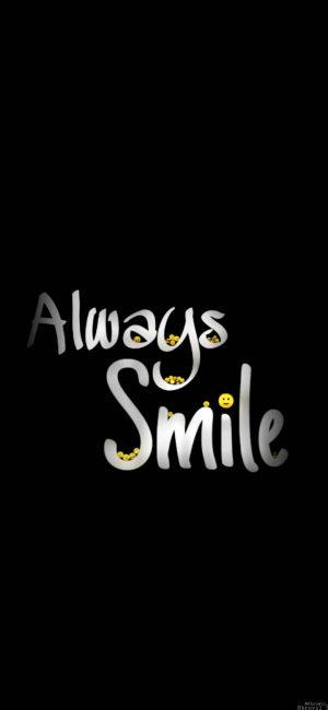 Always Smile Wallpaper 1080x2340 300x650 - Motivational Wallpapers