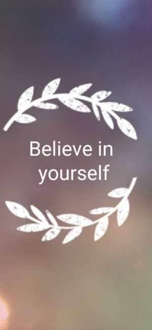 Believe In Yourself Wallpaper 746x1616 300x650 - Quotes iPhone Wallpapers