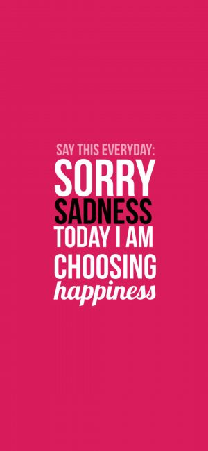 Choose Happiness Wallpaper 1080x2340 300x650 - Quotes iPhone Wallpapers