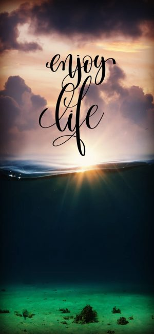 Enjoy Life Wallpaper 1080x2340 300x650 - Quotes iPhone Wallpapers