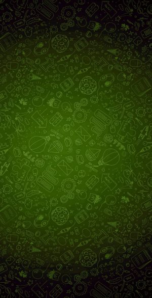 Green Background Phone Wallpaper 22 300x585 - iPhone Green Wallpapers