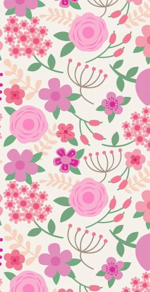 Pink Background Wallpaper 06 300x585 - Pink iPhone Wallpapers