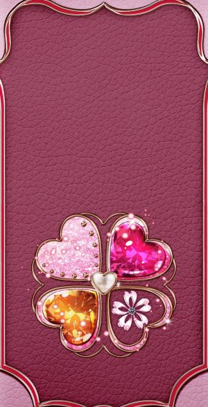 Pink Background Wallpaper 23 300x585 - Pink iPhone Wallpapers