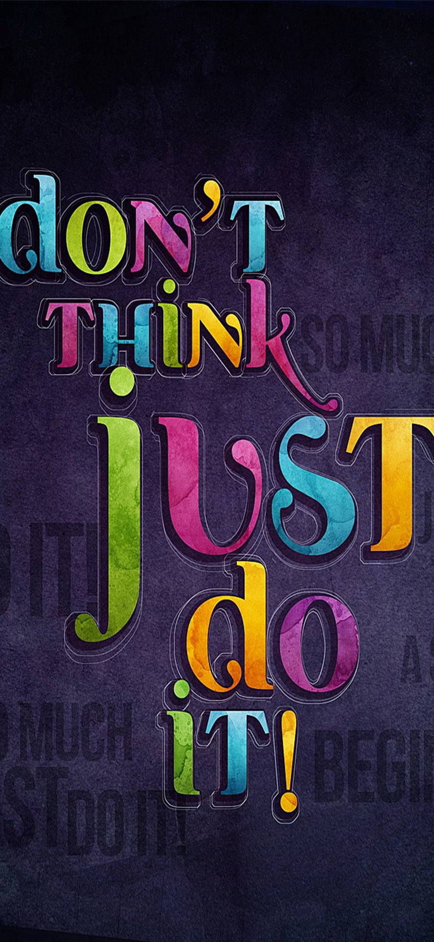 Think Just Do It Wallpaper