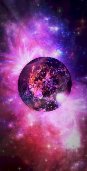 Space Wallpaper for Phone 084 300x585 - Purple Wallpapers