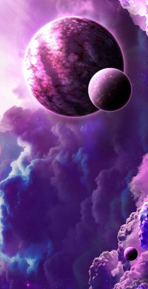 Space Wallpaper for Phone 137 300x585 - Purple Wallpapers