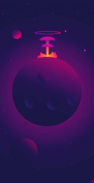Space Wallpaper for Phone 266 300x585 - Purple Wallpapers