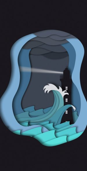 3D Phone Wallpaper 022 300x585 - Blue Wallpapers