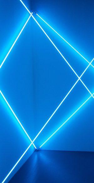Blue Neon Light 3D Phone Wallpaper 207 300x585 - Abstract Wallpapers