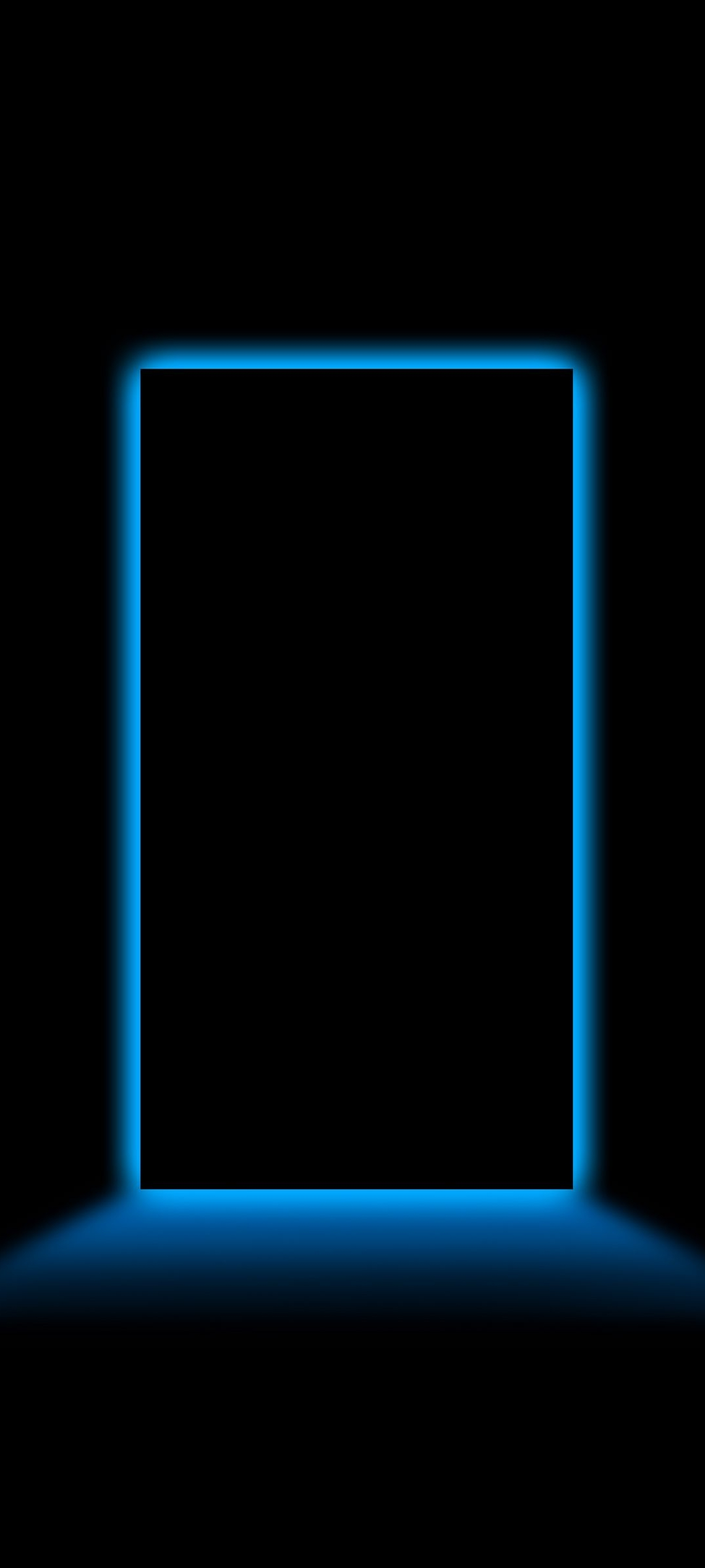 Border Amoled Black Neon Wallpaper 81