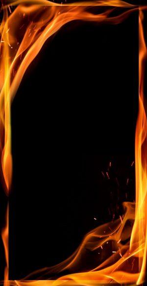 Border AMOLED Fire Edge Black Wallpaper 75 300x585 - Border Wallpapers