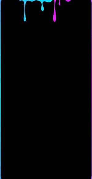 Border Colors AMOLED Black Wallpaper 21 300x585 - Border Wallpapers